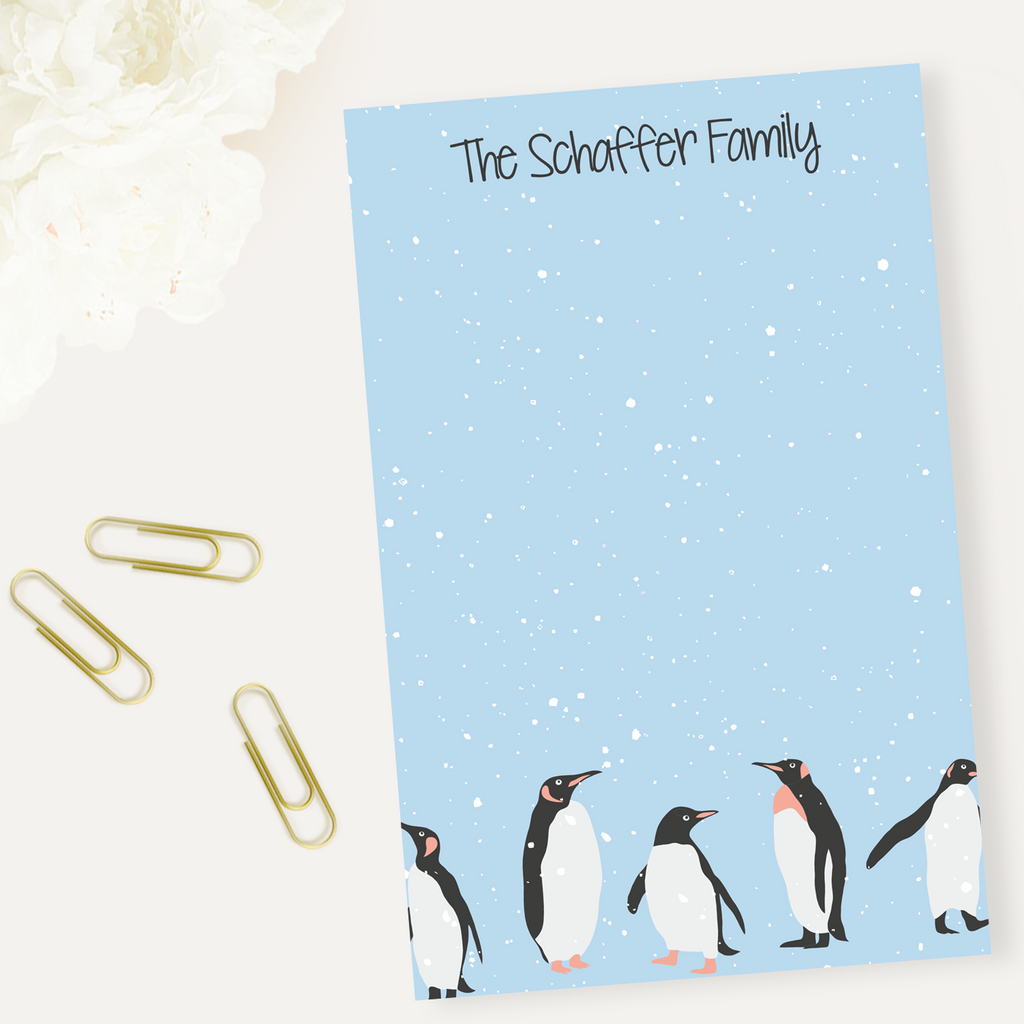 Penguins Notepad - milogiftshop