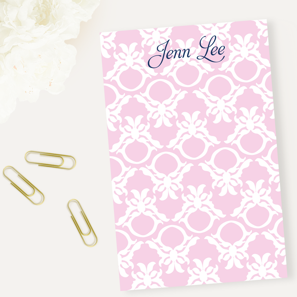 Ring Damask Notepad - milogiftshop
