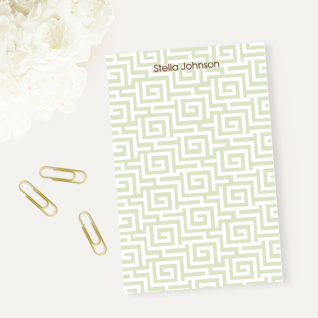 Sounio Green Notepad