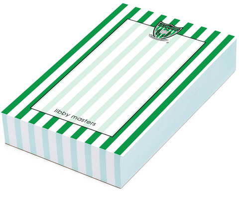 Club Ohio Soccer Stripe Notepad