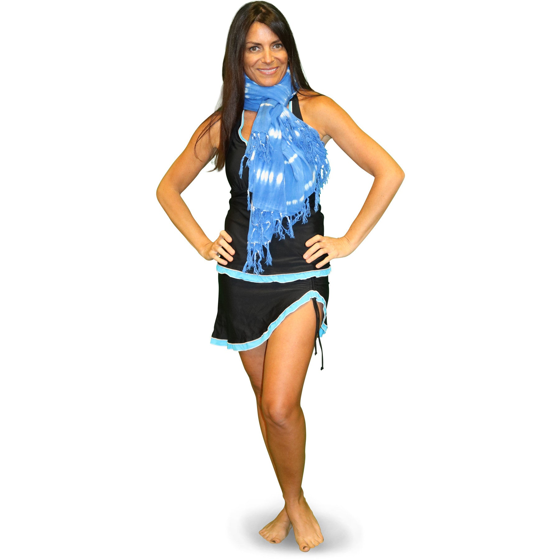 Blue Santo Wrap - milogiftshop