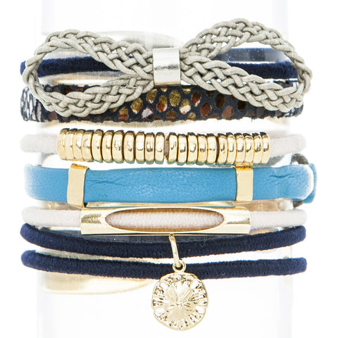 Sailing Hair Band Bracelet Stack