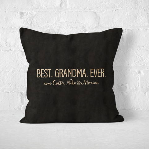 Best Grandma Ever Indoor Pillow