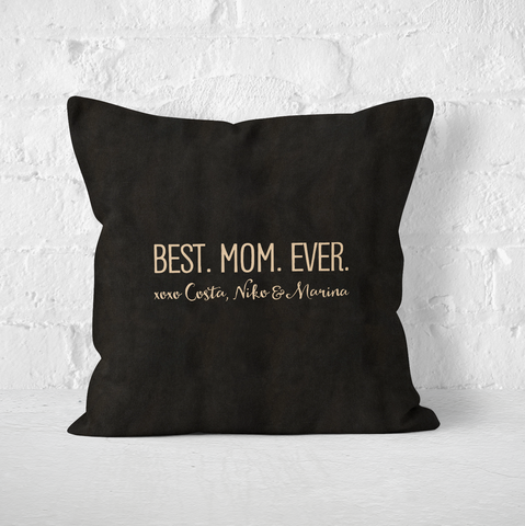 Best Mom Ever Indoor Pillow
