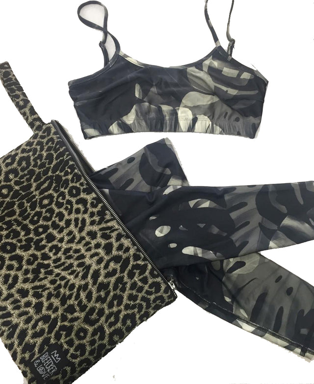 Leopard Flat Pouch - 2 Sizes Available