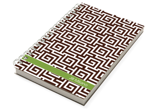 Sounio Brown Chunky Notebook - milogiftshop
