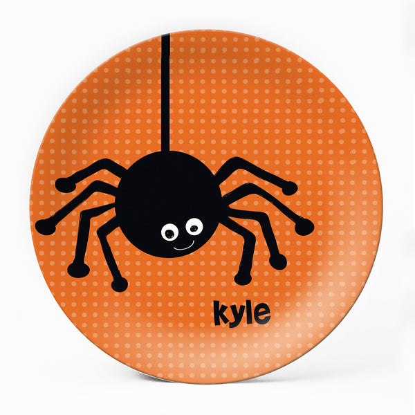Spooky Spider Plate