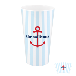 Anchor Stripes Tumbler