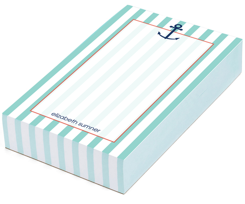 Anchors Away Notepad