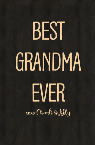 Best Grandma Chunky Notebook