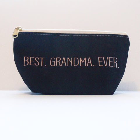 Sample Sale: Best Grandma T-Bottom Pouch