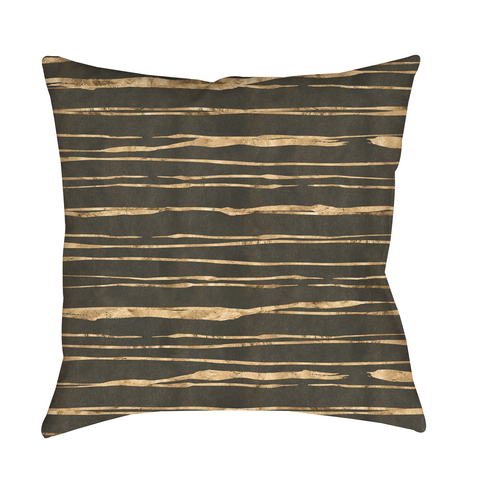 Brown Stripes Indoor Pillow