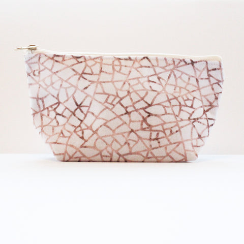 Sample Sale: Crackle T-Bottom Pouch