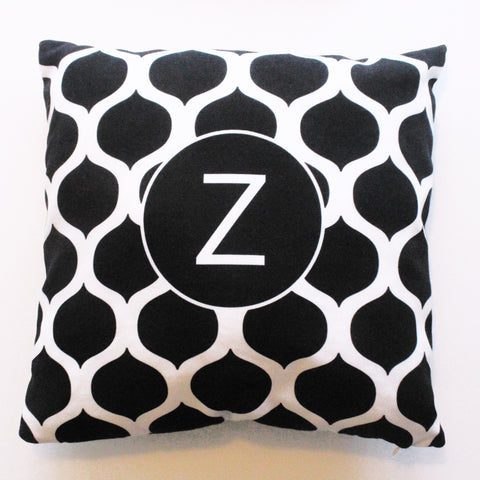 Sample Sale: Black Marrakesh Indoor Pillow