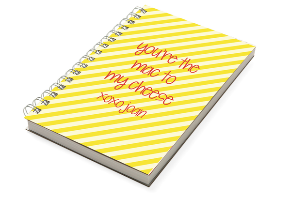 Mac And Cheese Chunky Notebook