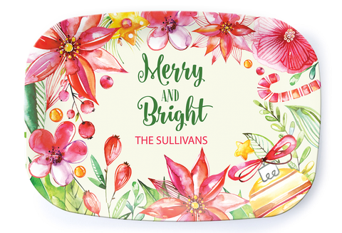 Merry and Bright Platter
