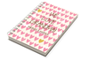 Pink Hearts Chunky Notebook