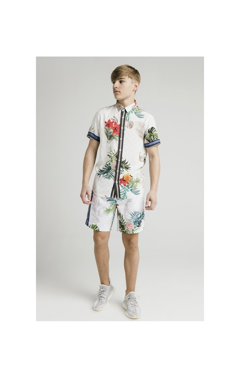 "Illusive London Camicia ""Resot'- Botanical (2)"