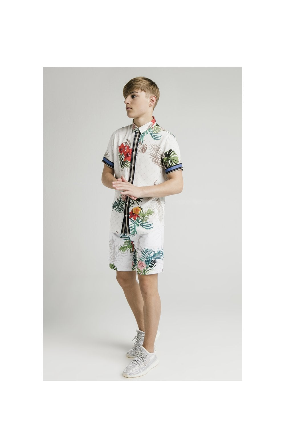 "Illusive London Camicia ""Resot'- Botanical (4)"