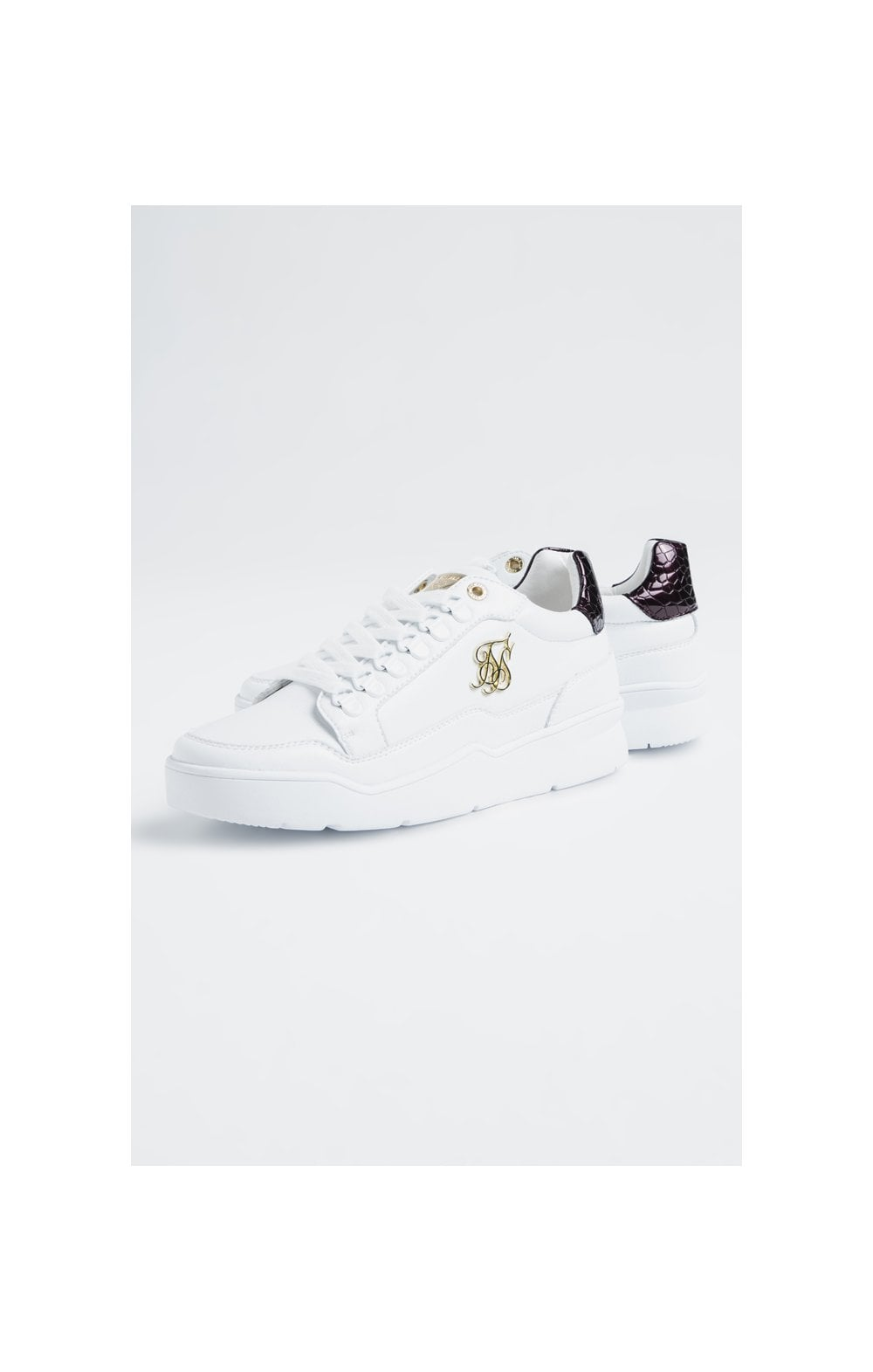 SikSilk D-Ring Pursuit Bianco & Bordeaux (1)