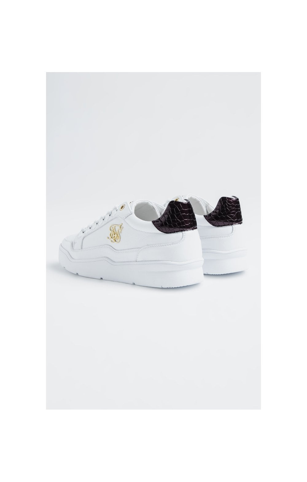 SikSilk D-Ring Pursuit Bianco & Bordeaux (2)