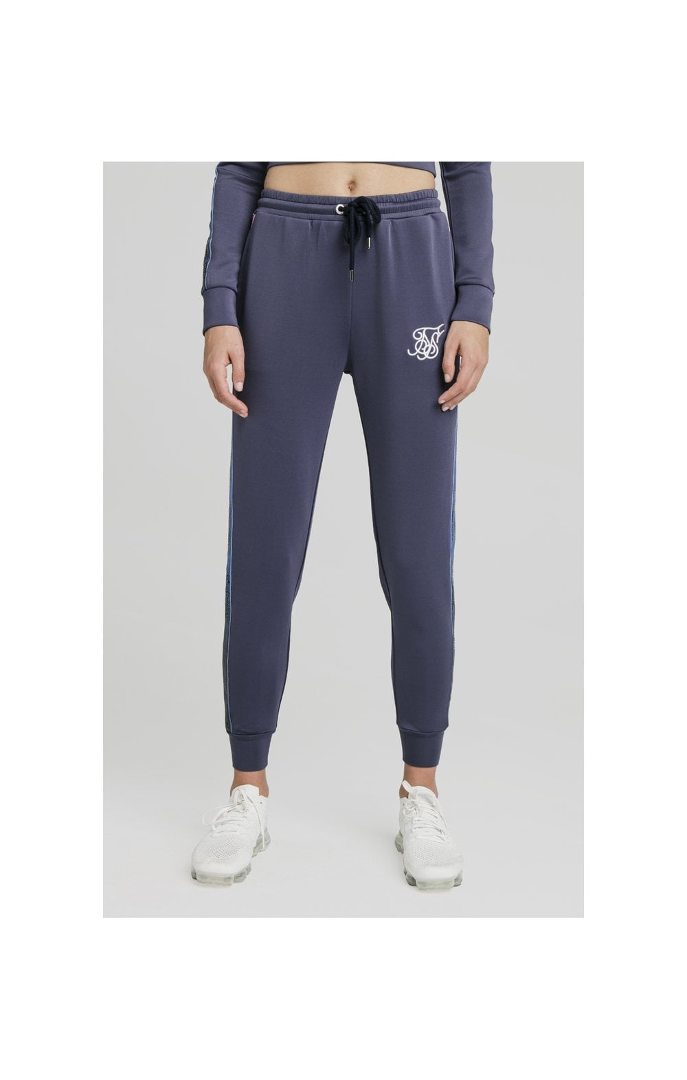 SikSilk Sbiadito Runner Pantaloni Spotivi Night Shadow (1)