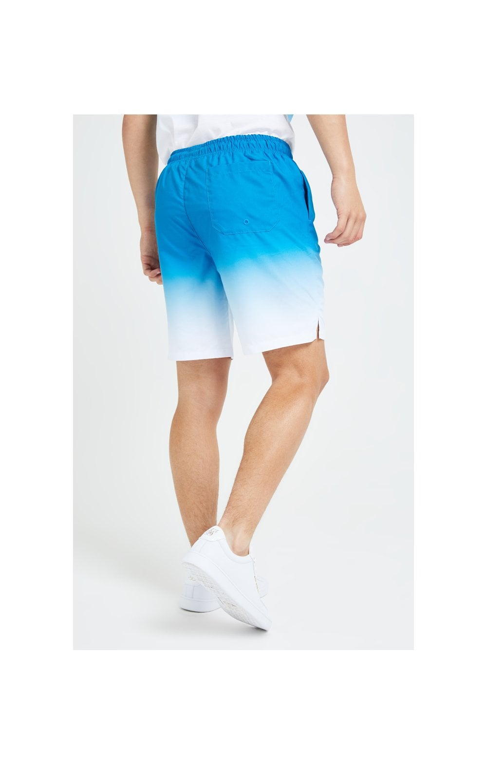Illusive London Elevate Fade Swim Shorts - Blue & White (2)