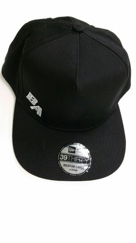 BA Black Flat Brim Hat