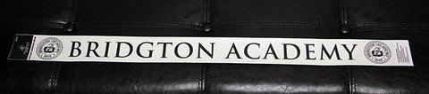 Bridgton Academy Rear Windshield Decal