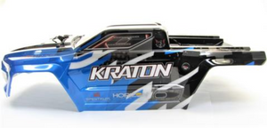ARRMA KRATON 6S BLX - PAINTED DECALED TRIMMED BODY (BLUE)