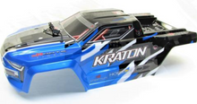 Load image into Gallery viewer, ARRMA KRATON 6S BLX - PAINTED DECALED TRIMMED BODY (BLUE)