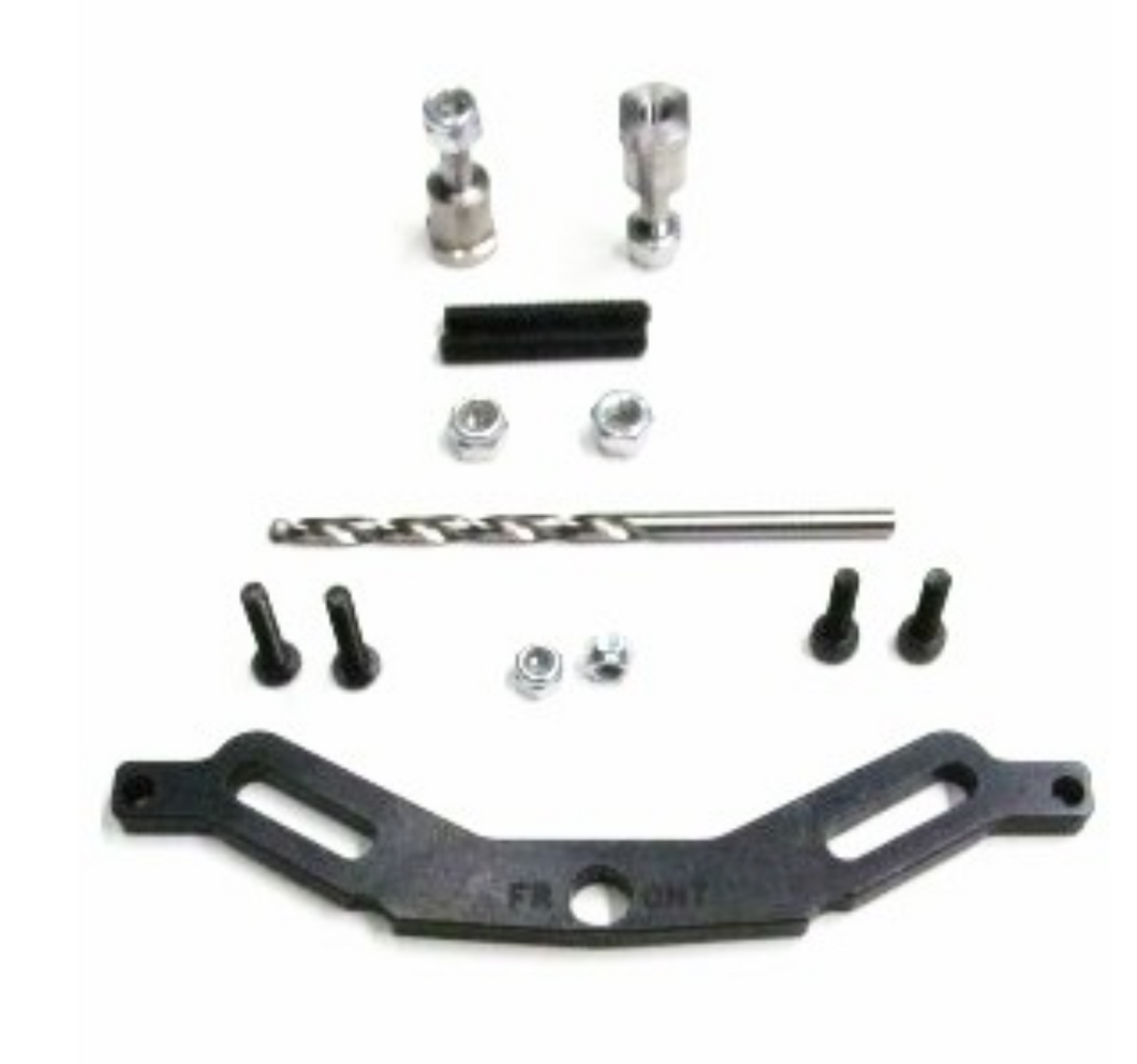 M2C 6760 TEKNO MT410 FRONT UPPER SHOCK TOWER BRACE