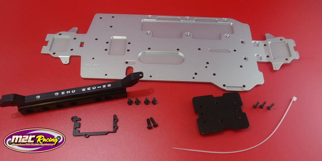 M2C 6820 TEKNO GAME CHANGER 410 WIDE BODY CHASSIS KIT.