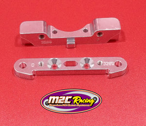 M2C 3290 ARRMA 8S REAR HINGE PIN SUPPORT BLOCK