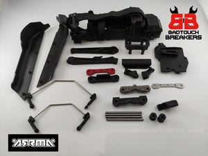 ARRMA TYPHON 6S V5 BLX - SIDE GUARDS, BATTERY TRAY, ROLL TOWER WING MOUNT ARA8606V5