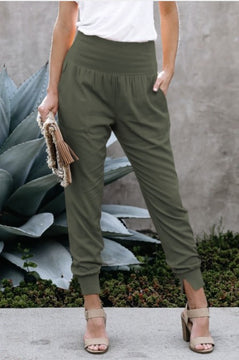 Victoria Pocketed Cotton Joggers