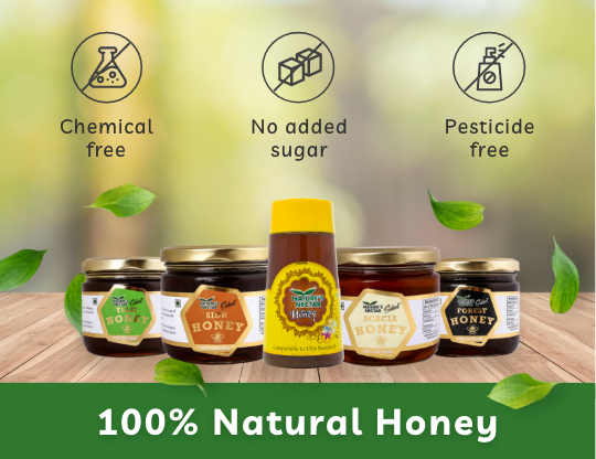 Our Honey is Certified & Approved by highest Standards and Recognised across the World!