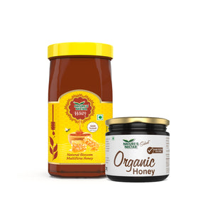 Organic Honey + Natural Honey (1.4kg)