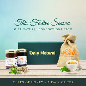 Special Small Gift Pack ( Honey and Tea Combo)