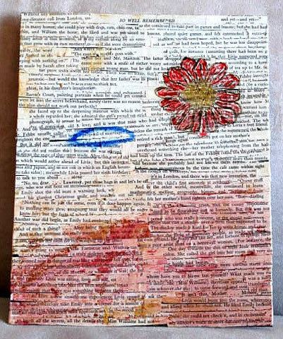 Book Page Collage Images Class (Live and Zoom)