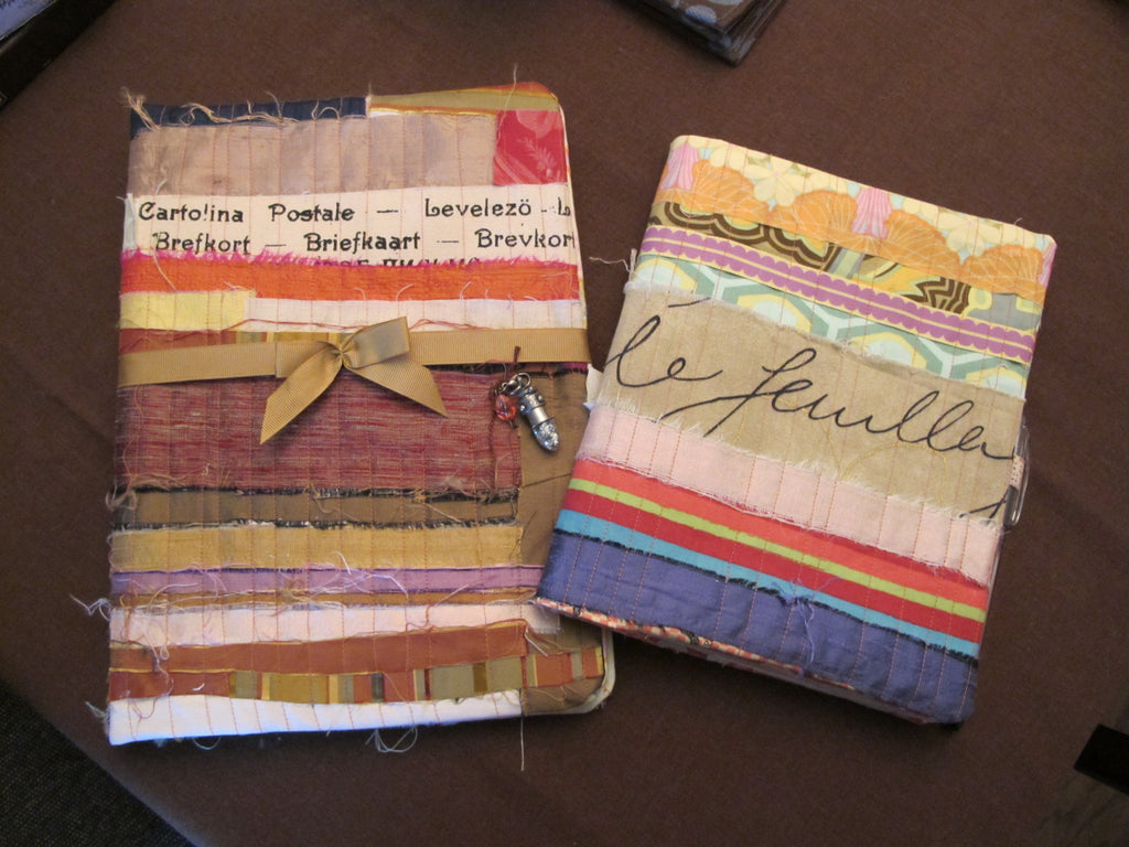 Handmade Notebook Covers Class