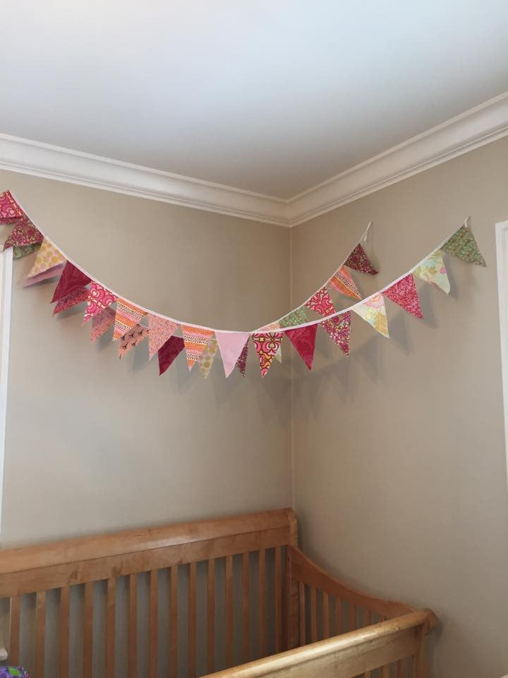 Upcycled Decorative Banners Class
