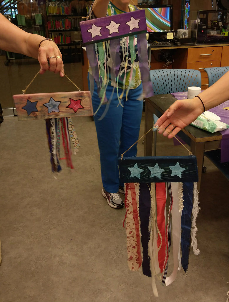 Rustic Flags