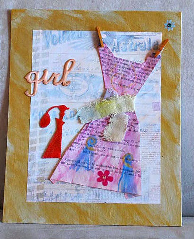 """The Girl"" Wallhanging"