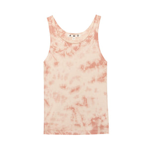 Load image into Gallery viewer, Tie-dye Long Rib Tank
