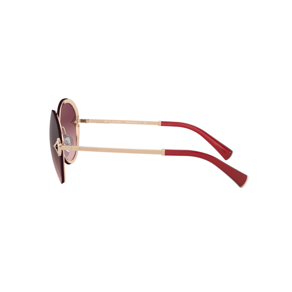 Load image into Gallery viewer, BVLGARI BV6101B Oval Women's Metal Sunglasses