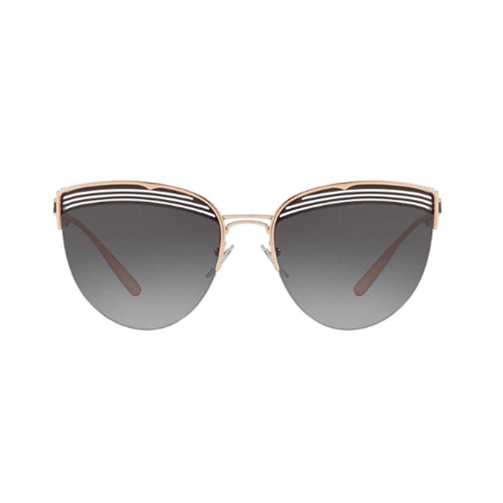 Load image into Gallery viewer, BVLGARI Cat-Eye BV6118 Sunglasses Pink Gold/Black