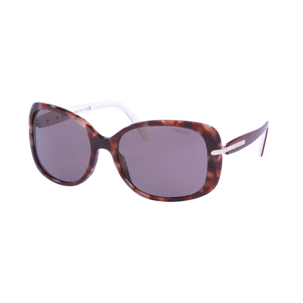 Load image into Gallery viewer, Prada Rectangular 08OS Conceptual Sunglasses Pink Havana
