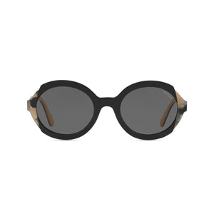 Load image into Gallery viewer, Prada Women's Oval Heritage Sunglasses Top Black Havana