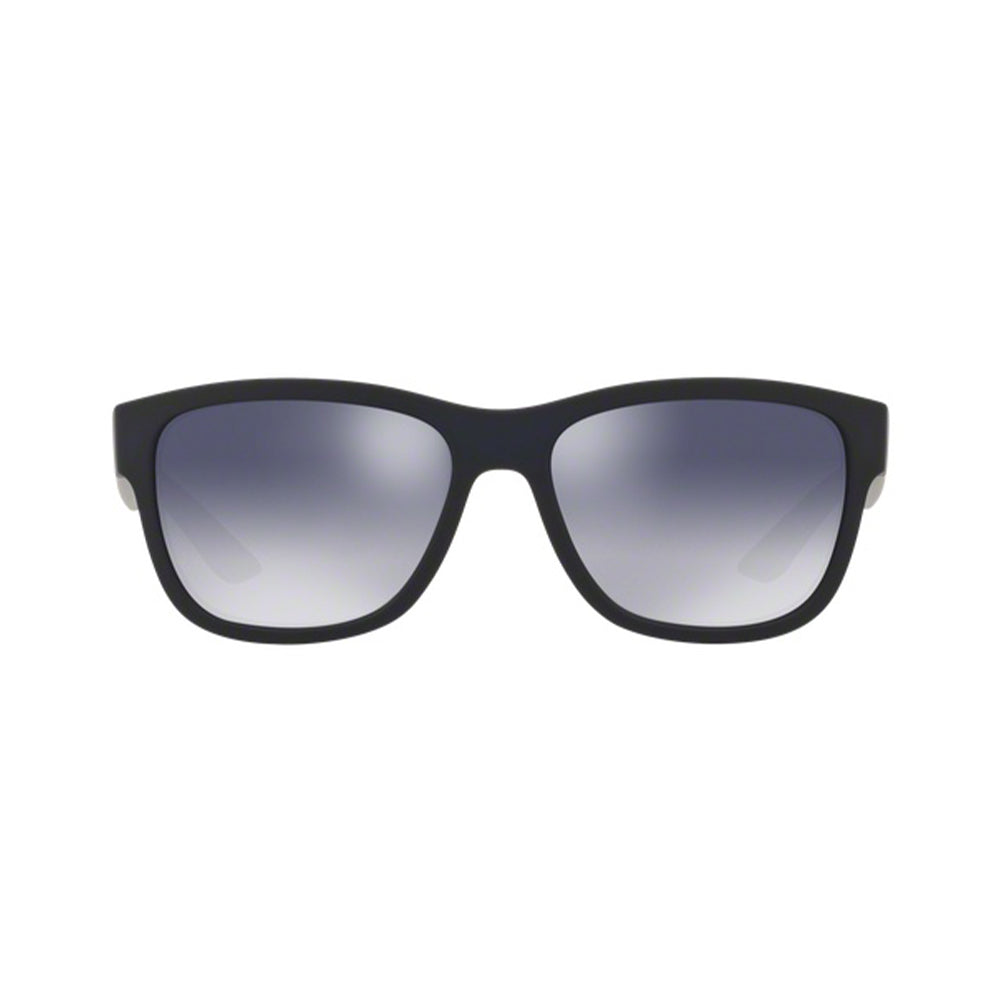 Load image into Gallery viewer, Prada Men's Rectangle 03QS Sunglasses Blue Rubber